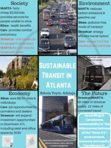 Sustainable Transit in Atlanta 2